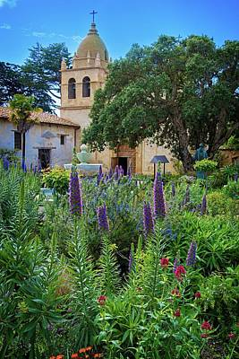 Photograph - The Carmel Mission by Lynn Bauer