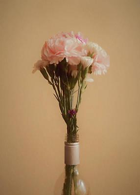 Digital Art - The Carnations by Ernie Echols