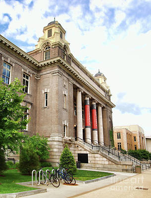 Photograph - The Carnegie Library by Debra Millet
