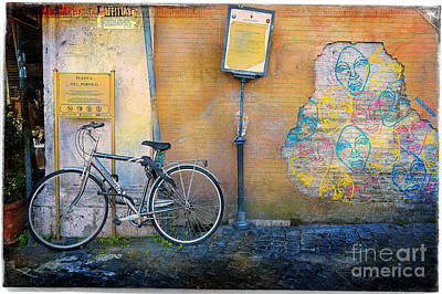 Photograph - The Carnielli Bicycle by Craig J Satterlee