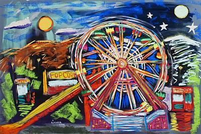 The Carnival Concoction Art Print by Albert  Almondia