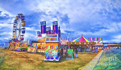 Photograph - The Carnival by Dave Luebbert