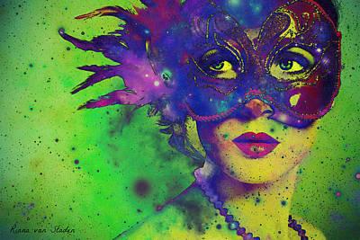 Digital Art - The Carnival  by Riana Van Staden