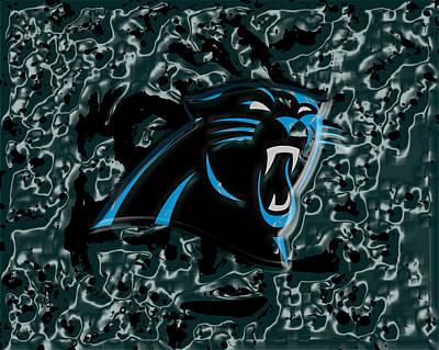 Patriot Mixed Media - The Carolina Panthers 2a by Brian Reaves