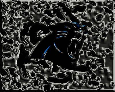 Patriot Mixed Media - The Carolina Panthers 2b by Brian Reaves