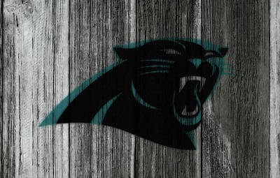 Tebow Mixed Media - The Carolina Panthers C1 by Brian Reaves