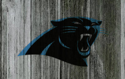 Tim Tebow Mixed Media - The Carolina Panthers C5 by Brian Reaves