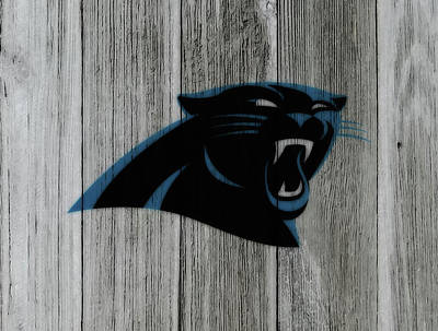 Tebow Mixed Media - The Carolina Panthers C6 by Brian Reaves