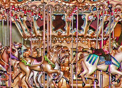 Katharine Hepburn - The Carousel by Kenneth Krolikowski