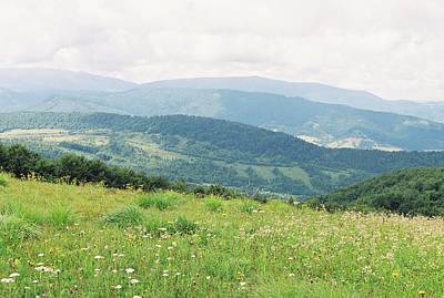The Carpathian Landscape 5 Art Print