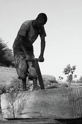 Photograph - The Carpenter by Aidan Moran