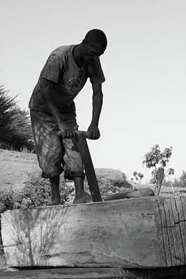 Photograph - The Carpenter by Aidan Moran