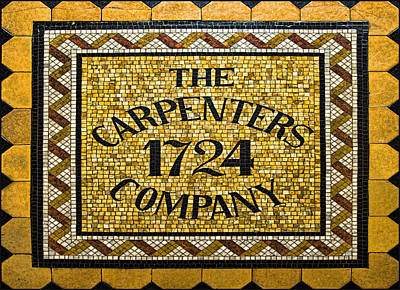Black History Photograph - The Carpenters Company by Stephen Stookey