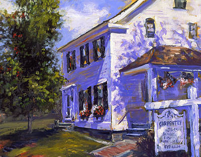The Carpenters House Art Print
