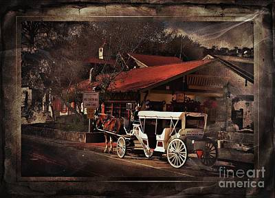Mixed Media - The Carriage by Bob Pardue