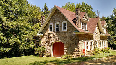 Photograph - The Carriage House by E B Schmidt