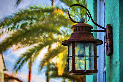 Photograph - The Carriage Lamp by Lewis Mann