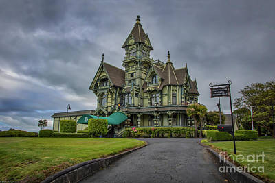 Photograph - The Carson Mansion by Mitch Shindelbower