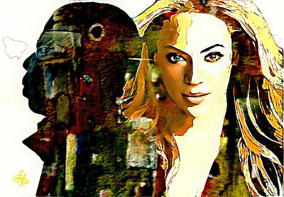 The Carters Art Print