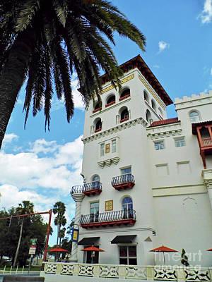 Photograph - The Casa Monica Hotel by D Hackett