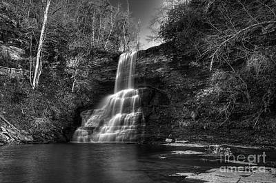 Photograph - The Cascades by Pete Hellmann