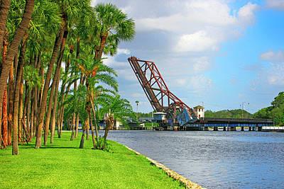 Photograph - The Cass Street Railway Bridge Tampa Fl by Chris Smith