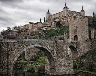 The Castle And The Bridge Original by Joan Carroll