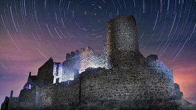 Photograph - The Castle And The Stars by Hernan Bua