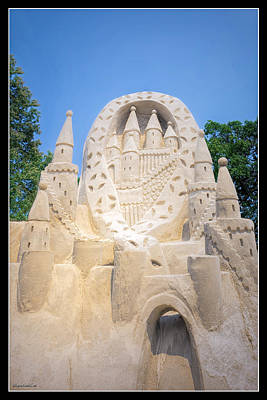 Photograph - The Castle Blue Water Sand Fest by LeeAnn McLaneGoetz McLaneGoetzStudioLLCcom
