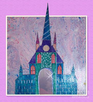 The Castle Falls In Love Art Print