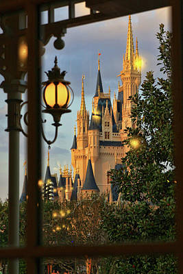 Photograph - The Castle From The Palace by Jim Garrison
