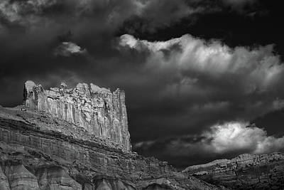 Capitol Reef National Photograph - The Castle by Joseph Smith