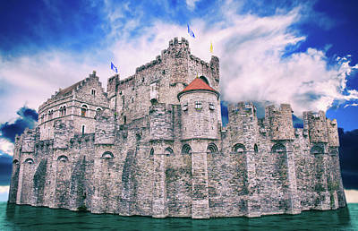 Photograph - The Castle Of The Counts by Iryna Goodall