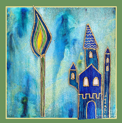 The Castle Prays Original by Aqualia