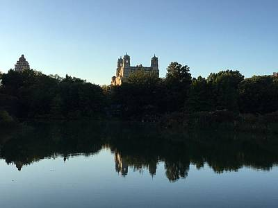 Photograph - The Castle Reflected by Val Oconnor