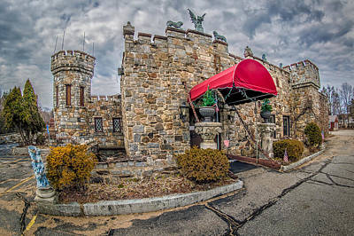 Photograph - The Castle Restaurant by Bob Bernier