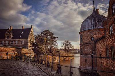 Residence Photograph - The Castle Walk by Carol Japp