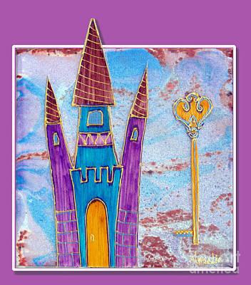 The Castle Worships Original by Aqualia