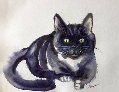 The Cat 8 Art Print