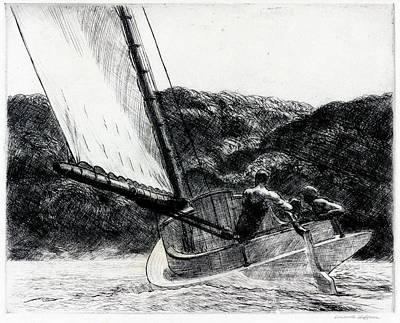 The Cat Boat Art Print