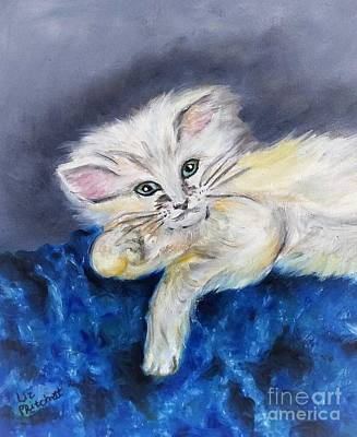 Miles Davis - The Cat II by Liz Pritchett