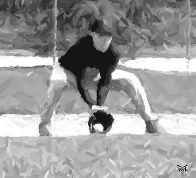 Digital Art - The Catch  II by Maria Watt