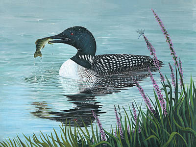 Painting - The Catch by Sheri Jo Posselt