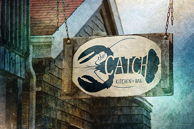 Photograph - The Catch by WB Johnston