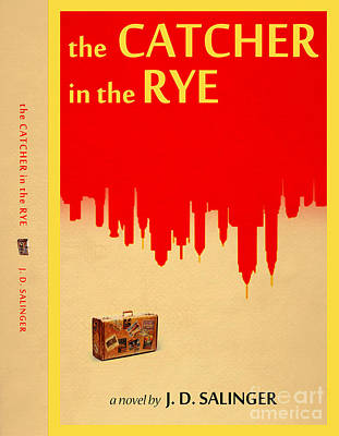 Book Covers Drawing - The Catcher In The Rye Book Cover Movie Poster Art 4 by Nishanth Gopinathan