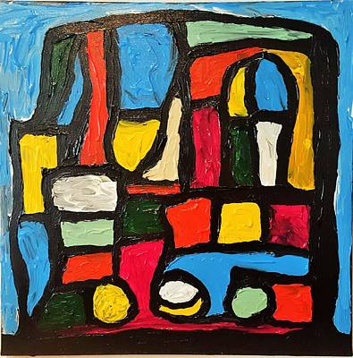 Painting - The Catedral by Darrell Black