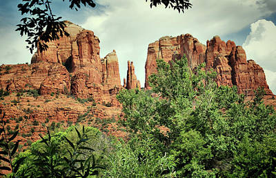 Photograph - The Cathedral - Sedona Arizona - Red Rock Crossing - Color  by Gregory Ballos