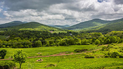 Art Print featuring the photograph The Catskill Mountains by Paula Porterfield-Izzo