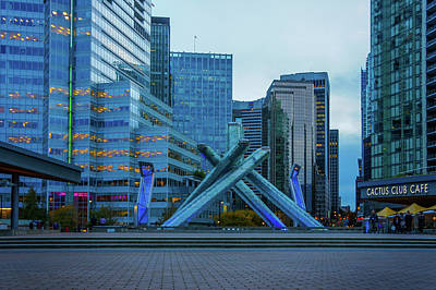 Vancouver Digital Art - The Cauldron by Art Spectrum