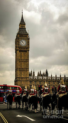 Photograph - The Cavalry And Big Ben by Marina McLain